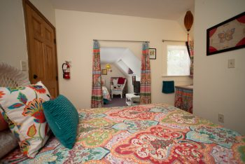 Paisley and Wicker Room | A Guest Hus | Lanesboro, MN